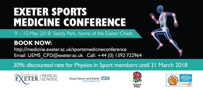 Exeter Sports Medicine Conference